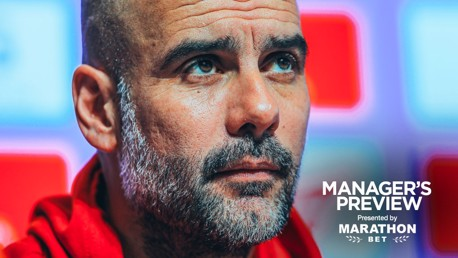 PREVIEW: Pep Guardiola faces the media ahead of City's game against Fulham.