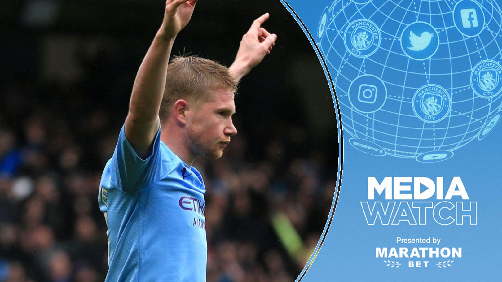MEDIA WATCH: KDB is ranked as the best in the Premier League so far this season