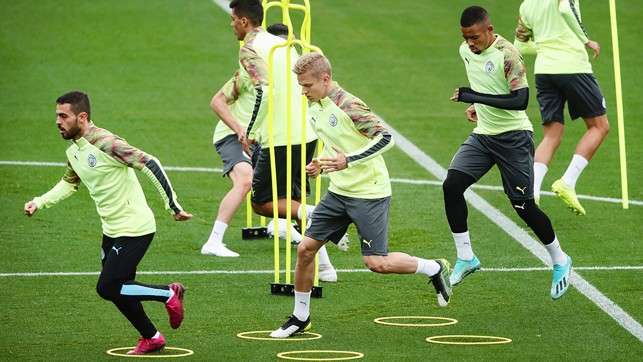 SPEED LIMIT : The session steps up a pace