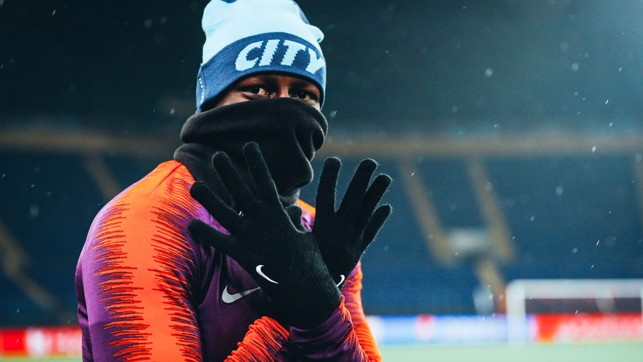 WRAPPED UP : The return of the snood!