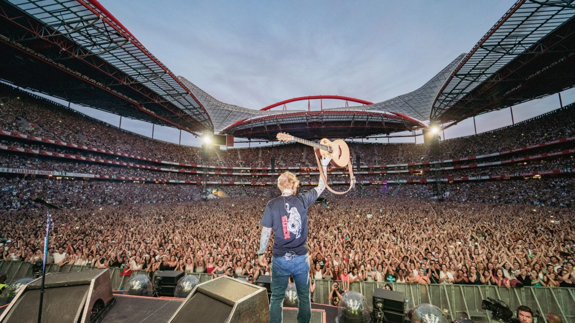 Ed Sheeran set to play Etihad Stadium doubleheader!