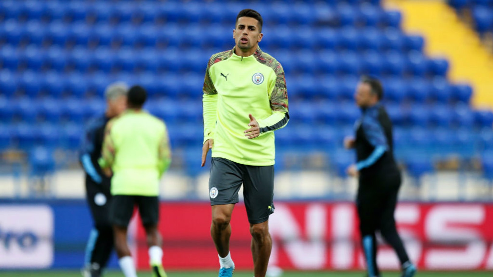 MOVING ON UP: Joao Cancelo.