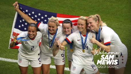 Sam Mewis: Stars, stripes and silverware