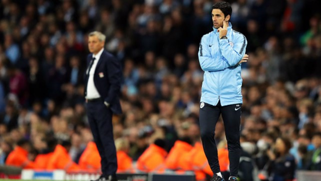 TEMPORARY CHARGE : Assistant coach Mikel Arteta takes charge against Lyon due to Pep's one-match Champions League touchline ban