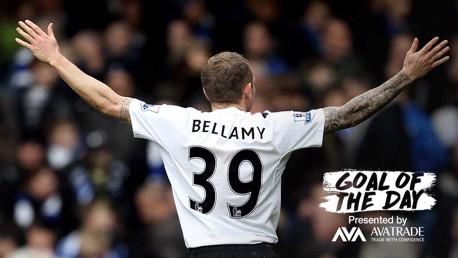 GOTD: Today's memorable goal is Craig Bellamy's at the Bridge back in 2010