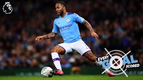 Raheem Sterling: Todos os gols pela Premier League
