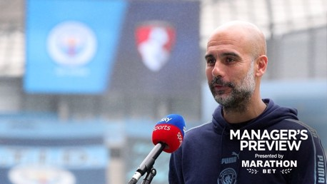 Pep: 'We love playing at Wembley'