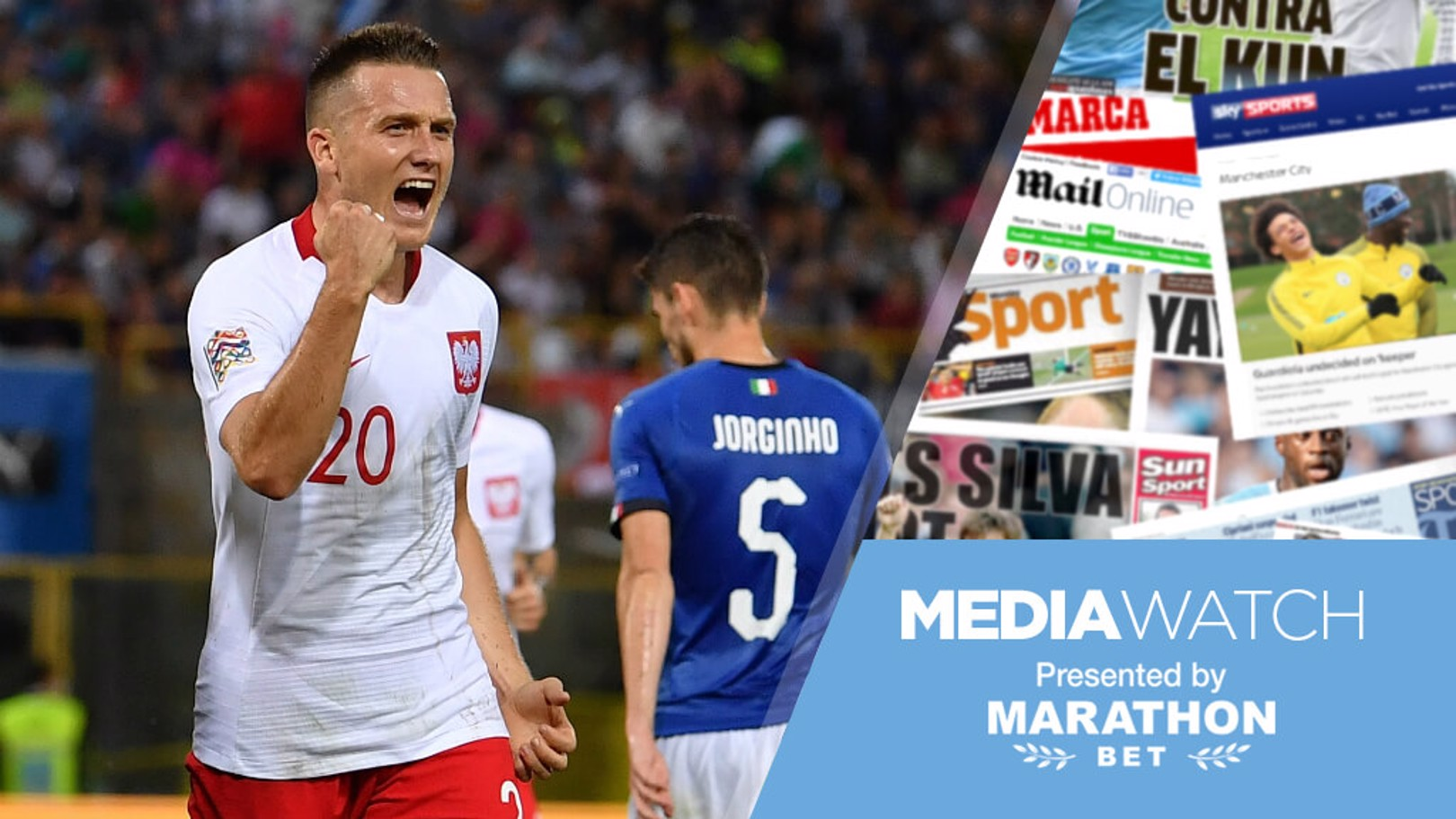 TRANSFER TALES: It's claimed City are set to battle Liverpool for the services of Napoli midfielder Piotr Zielinski...