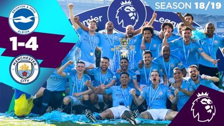 Cuplikan Klasik: Brighton 1-4 City