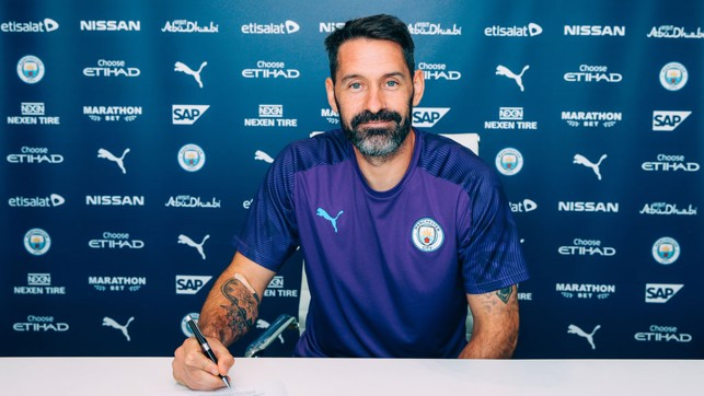CITY : And now, he's joined the champions