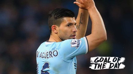 Goal of the day: Sergio Aguero v West Brom