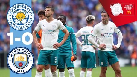 Leicester 1-0 Man City: resumen