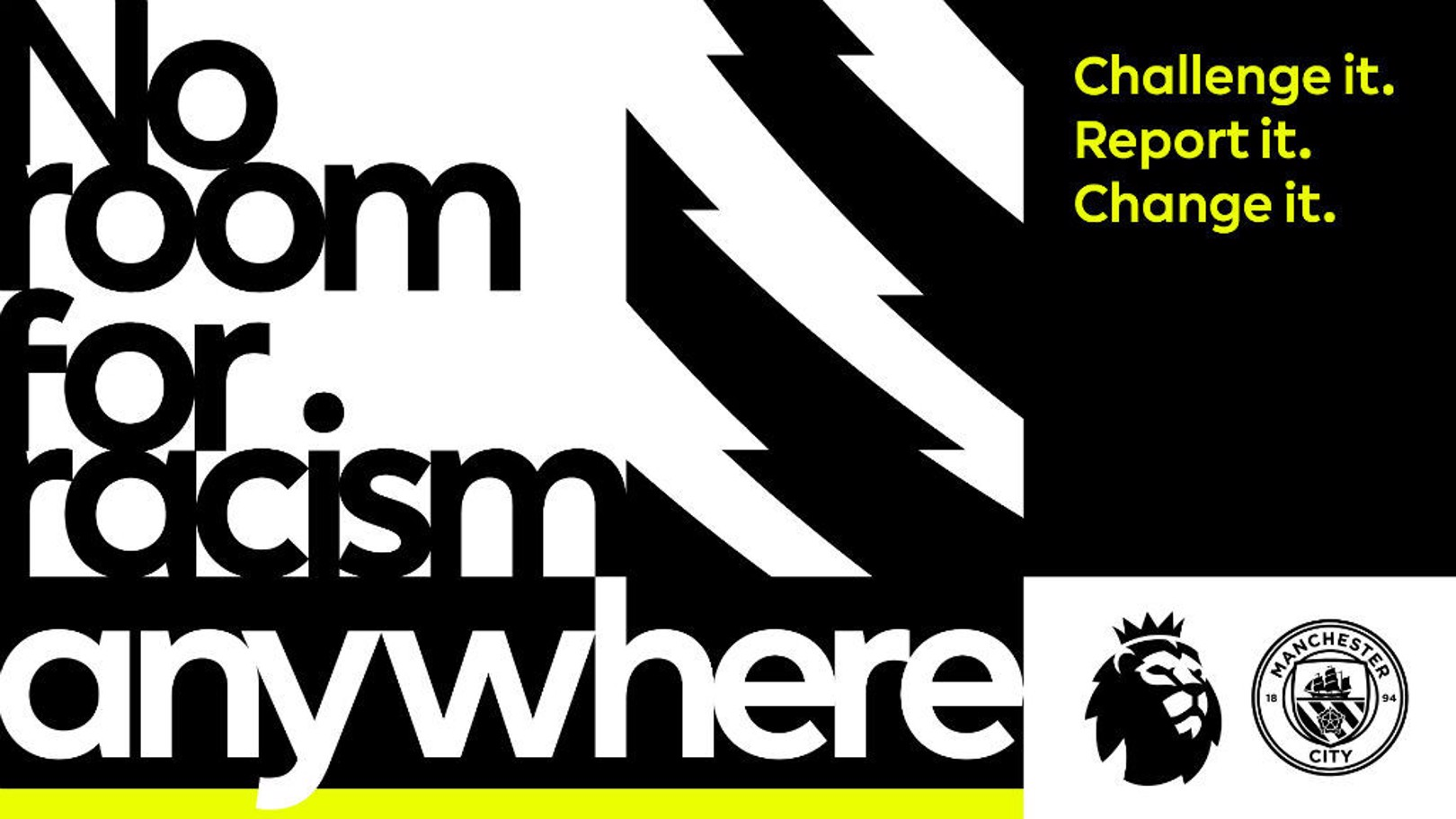 'No Room For Racism' 캠페인을 지지하는 CITY