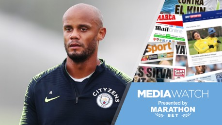 CAPTAIN'S CALL: Vincent Kompany says it's too early for City to make big statements in the title race...