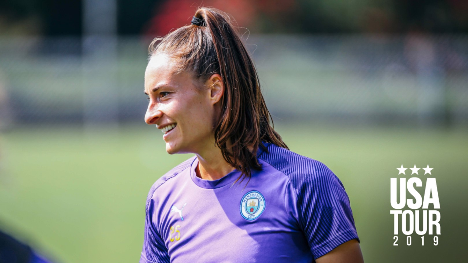 BELGIAN BLUE: Tessa Wullaert is enjoying the Women's International Champions Cup