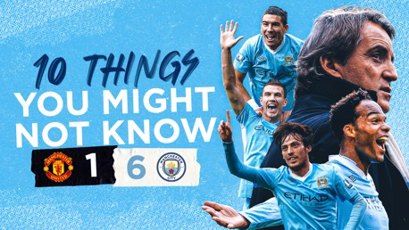 10 things you might not know about United 1-6 City