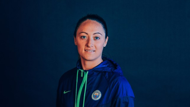 TRUE BLUE : Megan Campbell is ready to play her part in City's continued quest for success