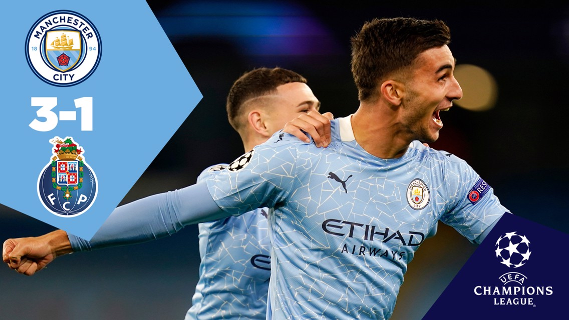 Full-match replay: City 3-1 Porto