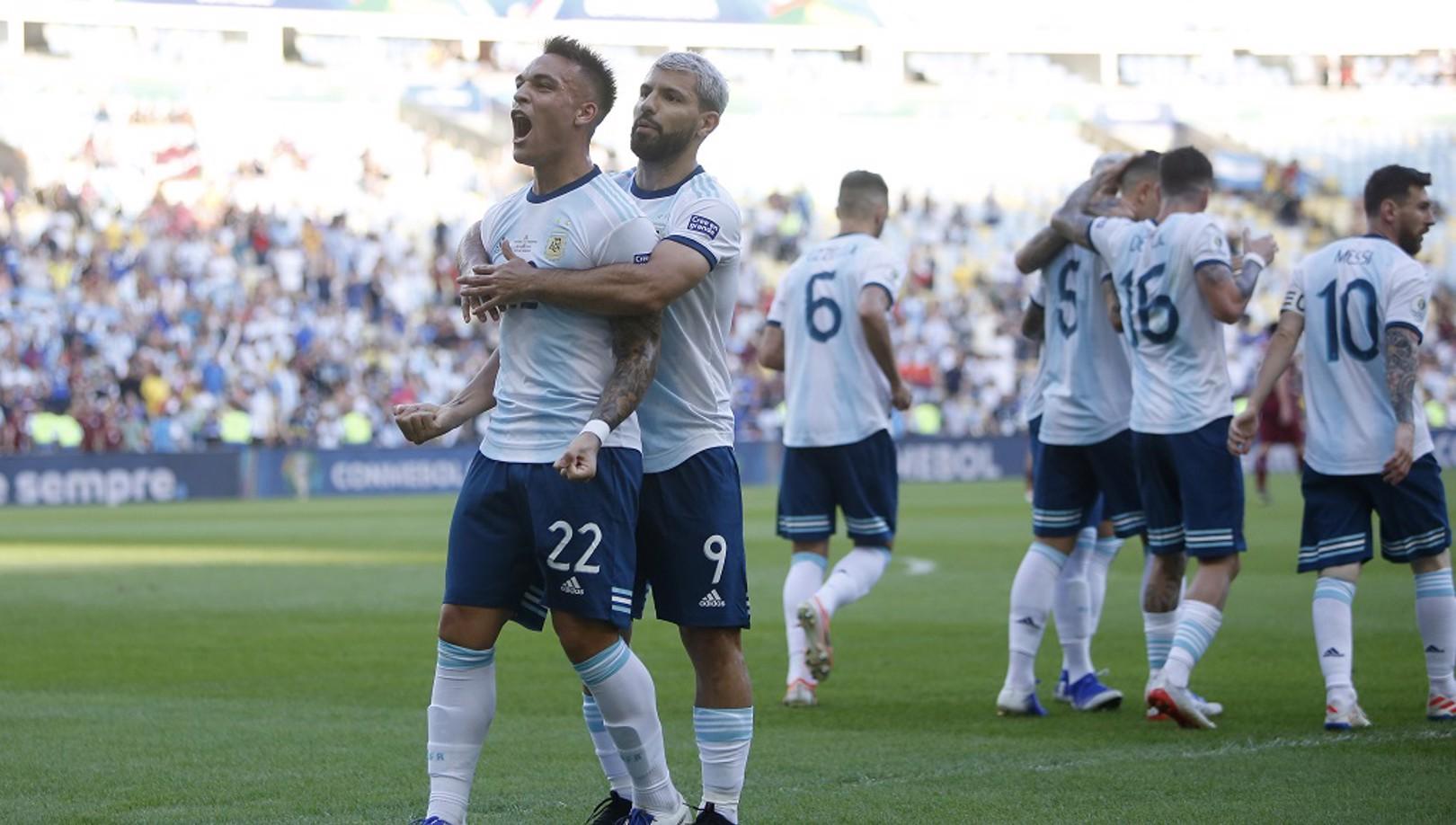 Argentina passa pela Venezuela e enfrenta o Brasil