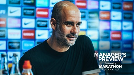 PRESS CONFERENCE: The manager previews the game...