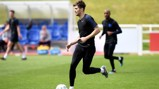 ENGLAND CALLING: John Stones in Three Lions training.