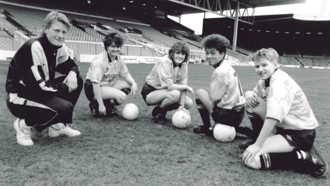 BACKING : Colin Hendry became the Ladies Team President in March 1990