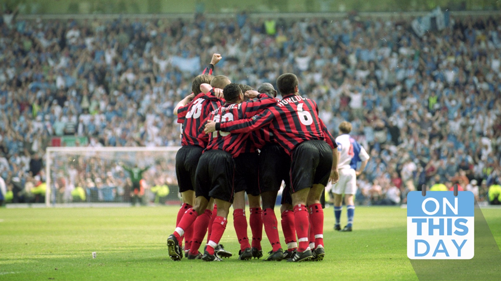 On this day: Promotion at Ewood Park!