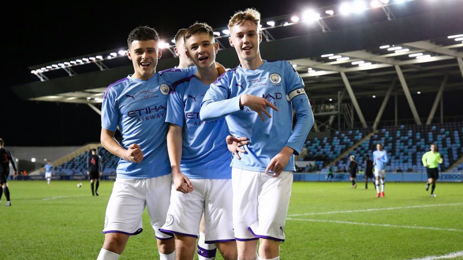 City Under 18s hungry for more success, says Palmer