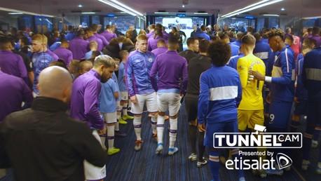 Tunnel Cam: City v Chelsea