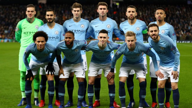 THE CHOSEN XI : The City starting line-up