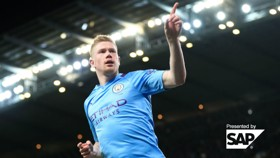 Kevin De Bruyne: City career stats