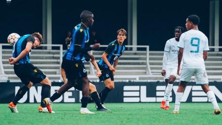 Match highlights: Club Brugge 1-1 City U19s