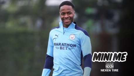 Raheem Sterling: Mini me