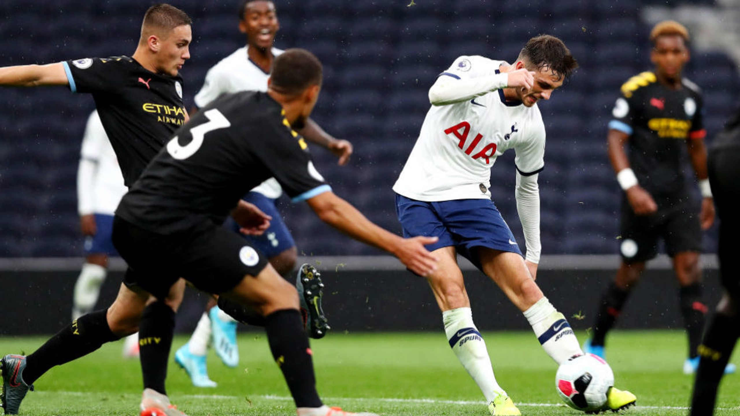 City EDS slip up at Spurs