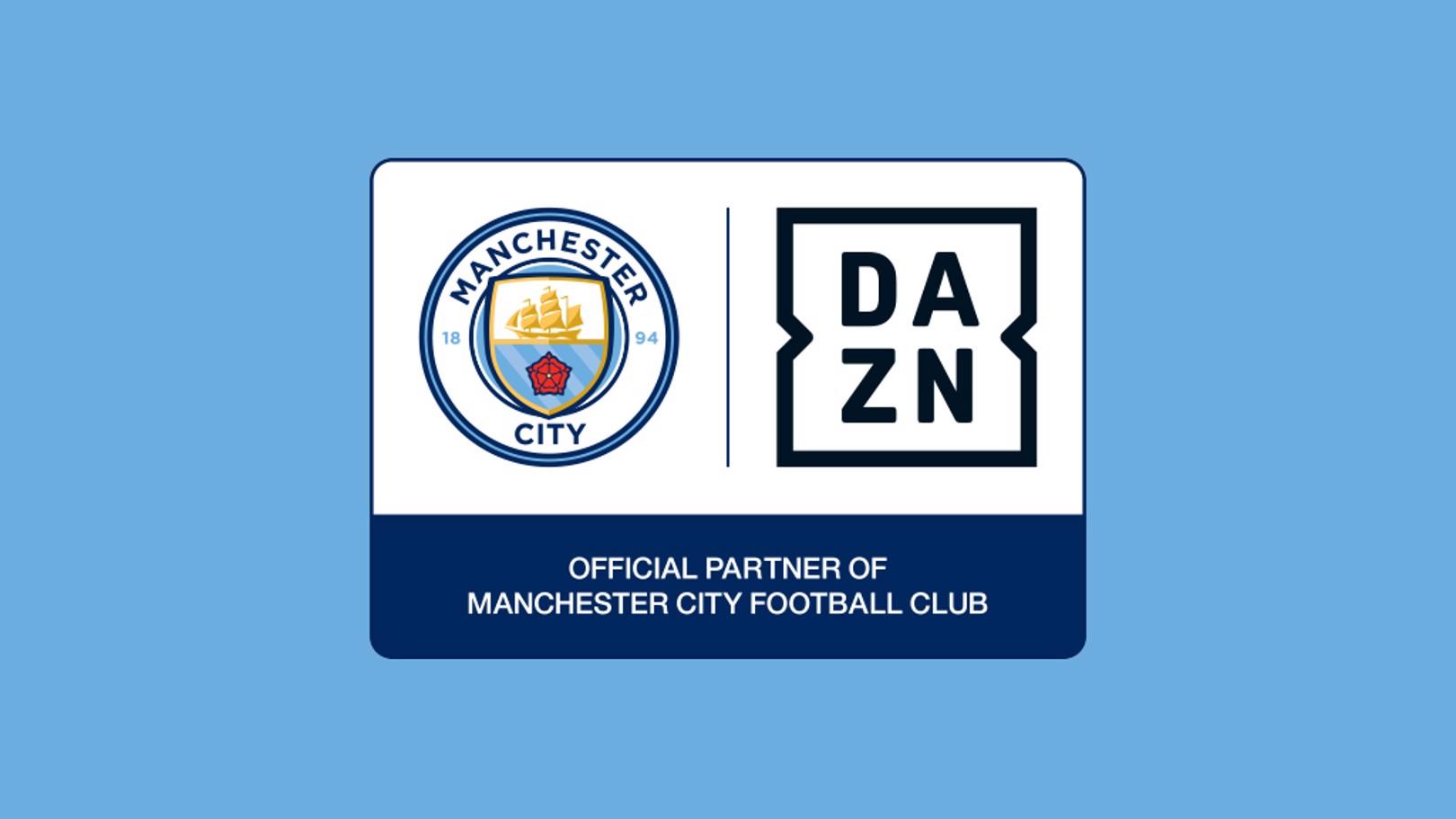 DAZN과의 파트너십 발표