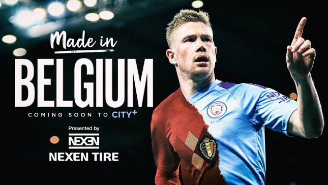 MADE IN BELGIUM: Our in-depth story charting Kevin De Bruyne's career is coming soon to City+