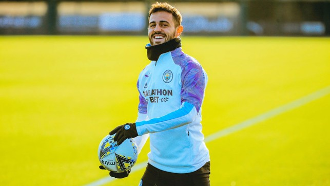 SMILEY SILVA : Bernardo beams at a sunny CFA.
