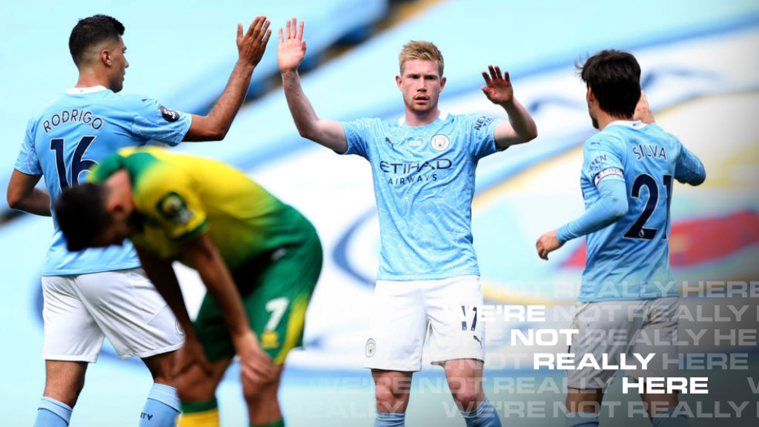 De Bruyne at the double as ton-up City sign off in style