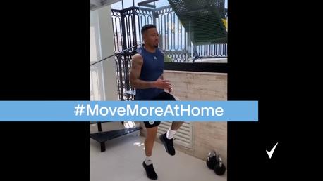 #MoveMoreAtHome ไปกับเฆซุส และเลสคอตต์ & โรดริโก้