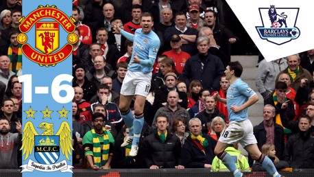 Classic Highlights: United 1-6 City 2011