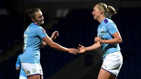 GERMAN EFFICIENCY: Pauline Bremer is remarkable goalscoring form