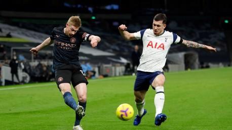 How can I watch Tottenham v City on TV?