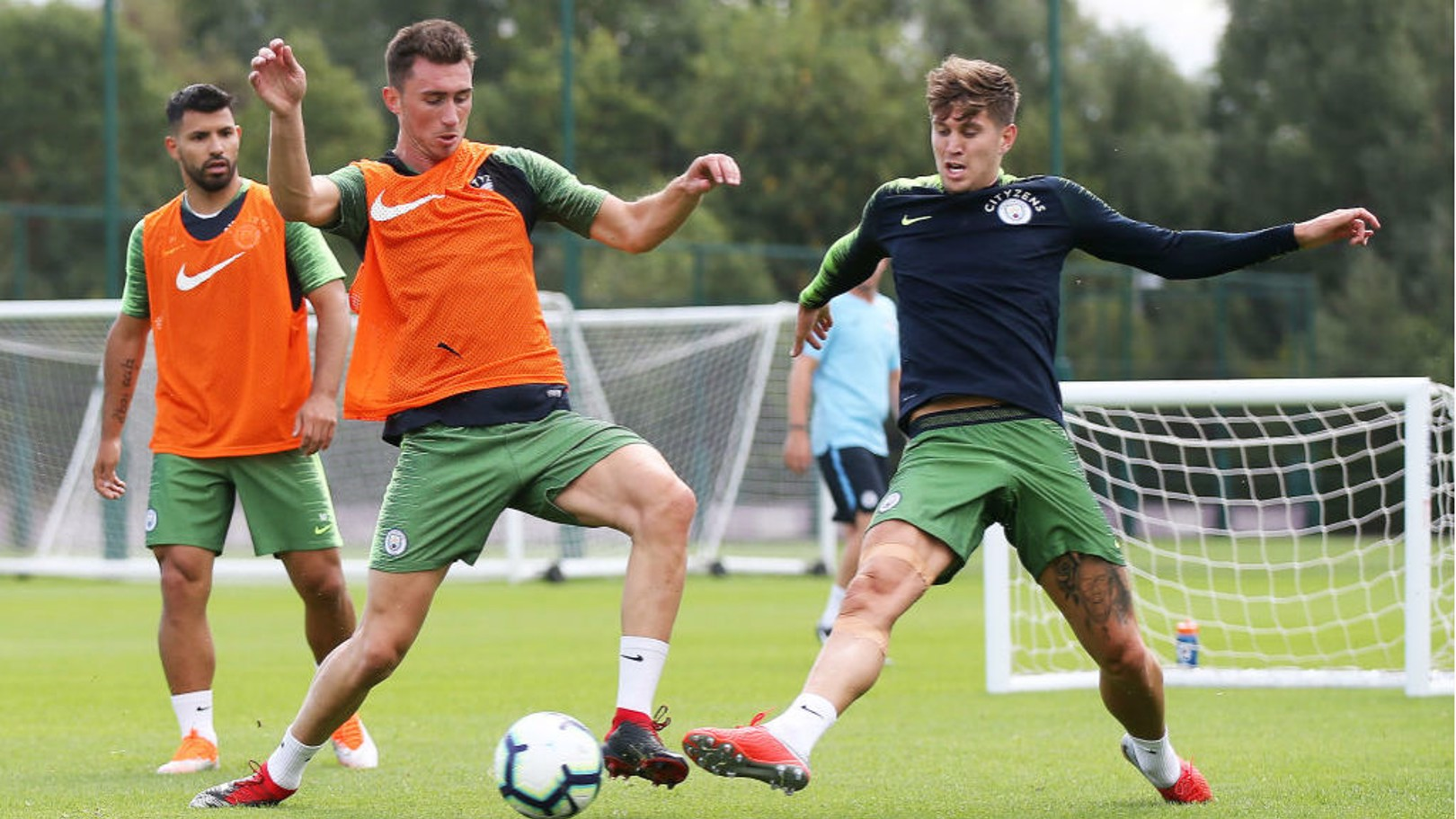 Pep: Fight for places inspires Stones and Laporte