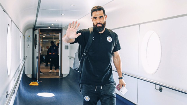 I'M BACK : Claudio Bravo is part of the squad having recovered from a long-term injury. Good luck, Claudio!