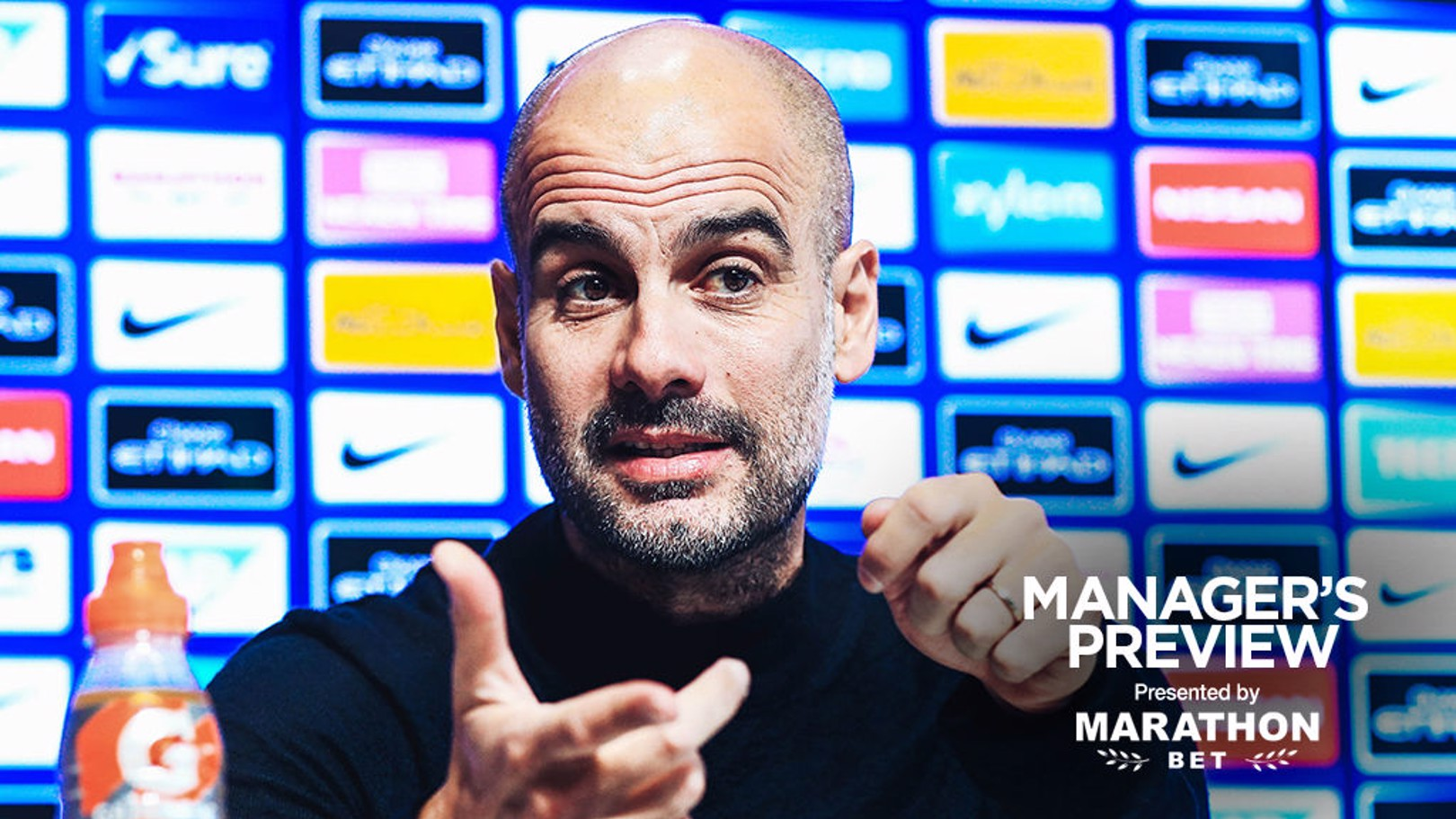 PEP TALK: The boss gives us a full update ahead of Sunday's game