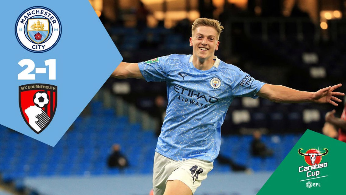 City 2-1 Bournemouth: Full-match replay