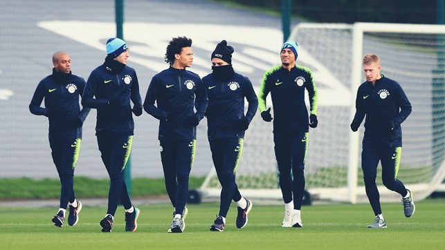 SQUAD : Preparing for the Cup!