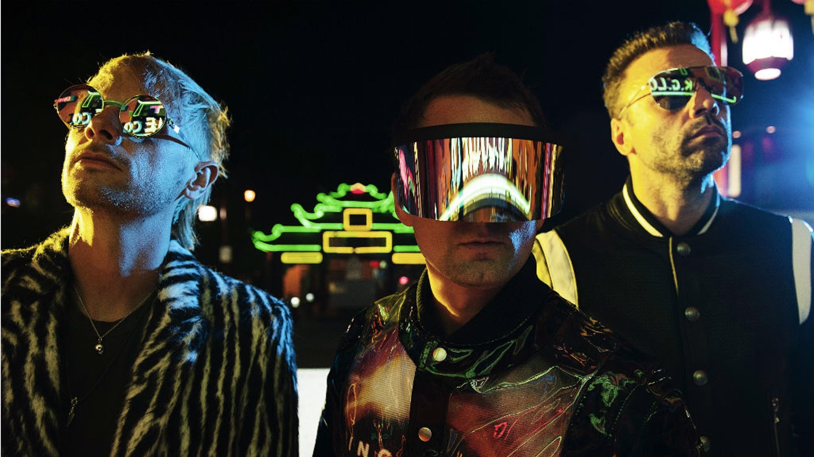 CITY DATE: Muse will be playing at the Etihad Stadium next June