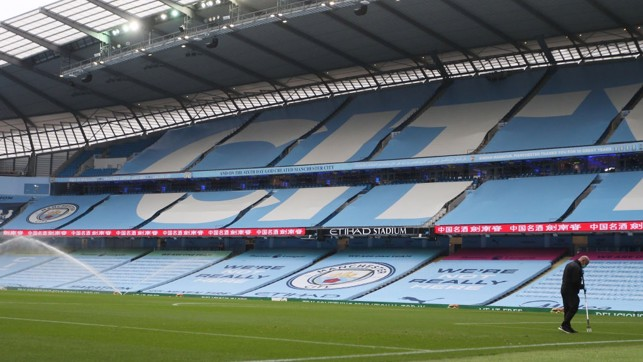 HOME : The Etihad looks as beautiful as always for the visit of Newcastle.