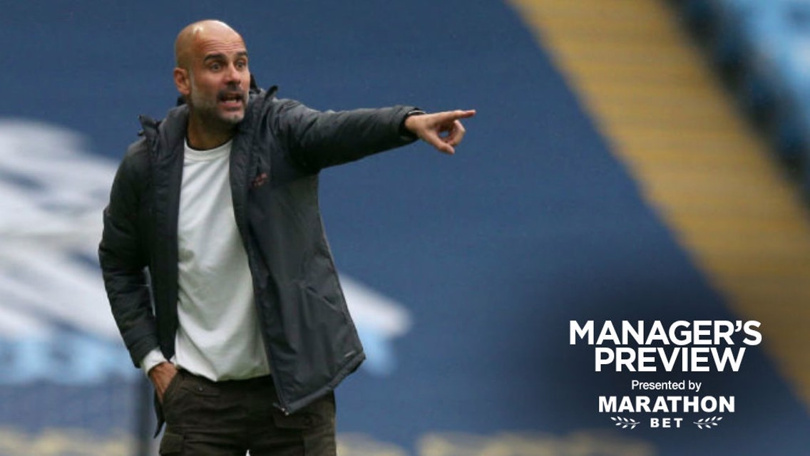 Guardiola: My focus is on an 'incredible' next four weeks
